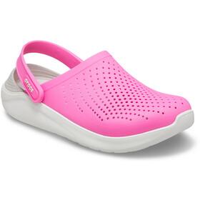 Crocs LiteRide Clogsit, electric pink/almost white